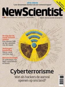 Cover New Scientist #3 - 22 augustus 2013, ontwerp van Leonie Bos