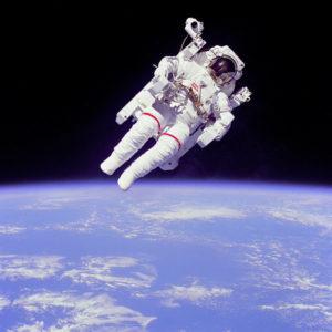 Microzwaartekracht kan het hart van een astronaut vervormen. Bron: Nasa