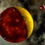 De jonge, hete aarde vormde tektonische platen. Bron: Walter Myers.