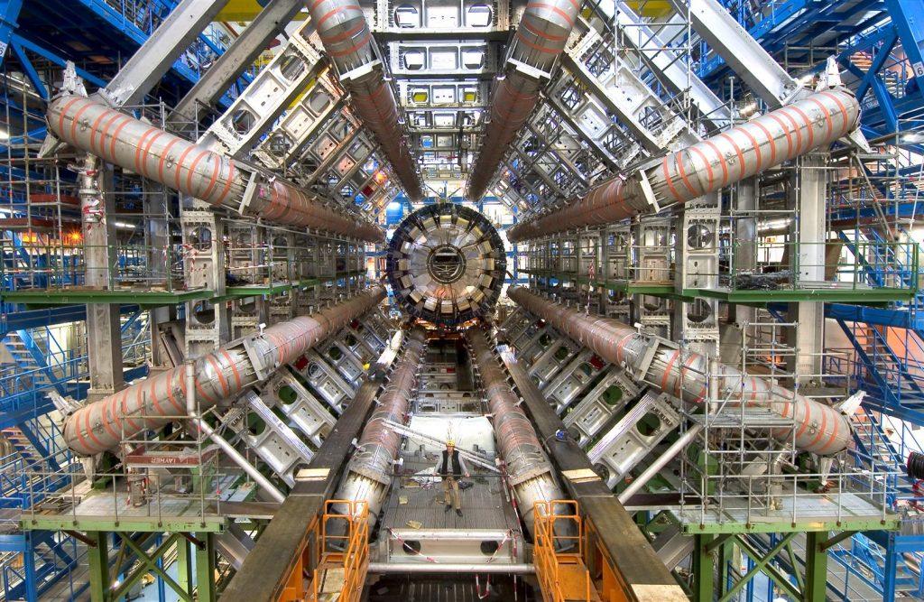 Het beroemde ATLAS-experiment van CERN. Beeld: CERN.