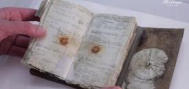 Het logboek van George Murray Levick. Bron: Antarctic Heritage Trust New Zealand