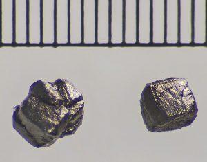 Lonsdaleiet van de Canyon Diablo-meteorietkrater in Arizona. Bron: Arizona State University/Laurence Garvie