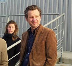 Nikhef-directeur Stan Bentvelsen op deeltjesfysica-instituut Cern