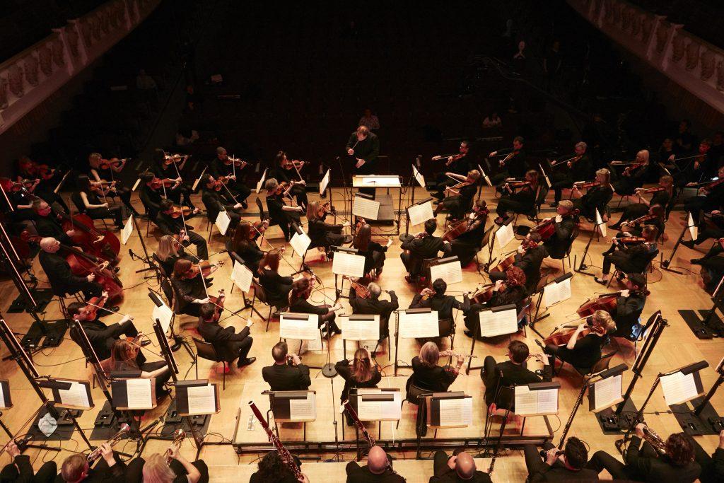De Onvoltooide door het English Session Orchestra in de Cadogan Hall in Londen. Beeld: Huawei.