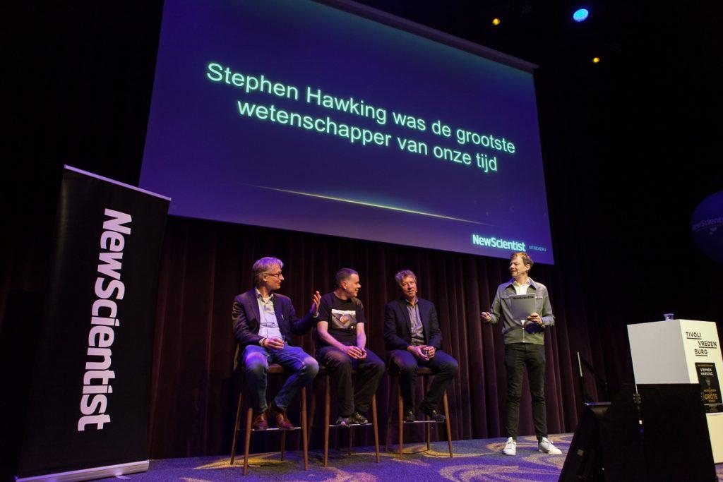 Max, Wieger en Erik over Hawking
