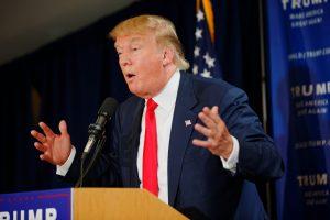 Donald Trump, president van de Verenigde Staten en gevaar voor de wetenschap. Afbeelding: Michael Vadon