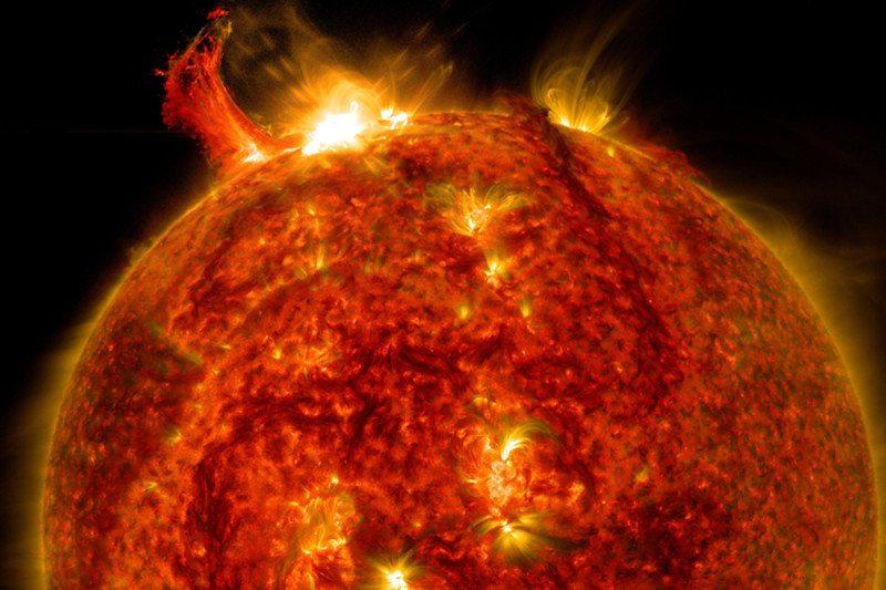 De aarde kan elk moment getroffen worden door een zonnevlam die alle technologie platlegt