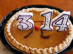 Op 14 maart viert men internationaal 'pie day', waarop mensen de cirkelconstante eren met smakelijke taarten.