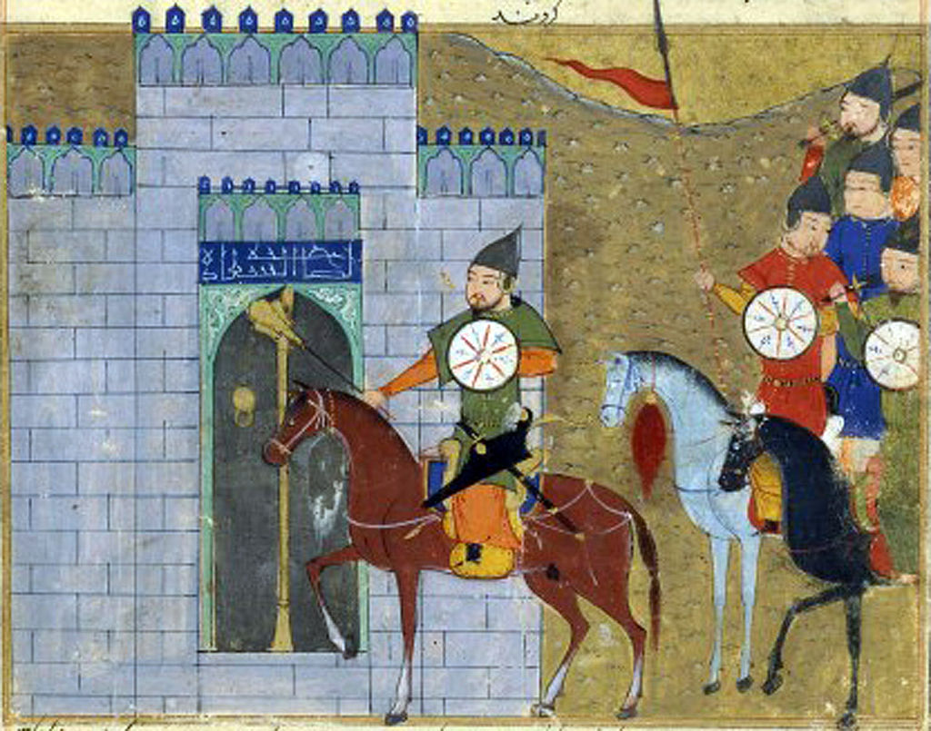 Genghis Khan is een van de elf 'oervaders' die in het onderzoek naar voren kwamen. Bron: Wikimedia Commons
