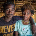 Een man en vrouw van het Aeta-volk in de Filipijnen. Bron: Sylvain Viguier