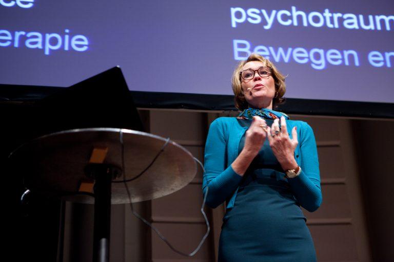 Iris Sommer in Het Concertgebouw. Foto: Hanne Hansen