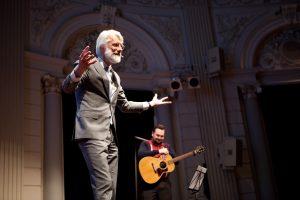 Erik Scherder en Tim Knol. Foto: Hanne Hansen