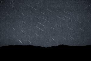 Meteorenzwerm de Perseïden, zoals hij in 2015 in Amerika te zien was. Beeld: Trevor Bexon, Flickr