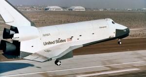 De Space Shuttle Enterprise werd vernoemd naar het ruimteschip uit sciencefictionserie Star Trek