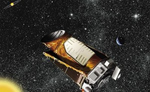 Artistieke impressie van Keplers missie Bron: NASA/Ames/JPL-Caltech