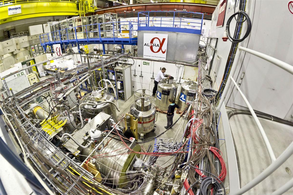 Antimaterie Energie
