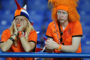 EK Voetbal Nederland vs Duitsland