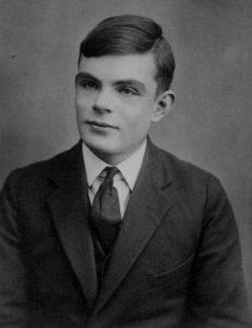 Alan Turing op 16-jarige leeftijd. Beeld: The Turing Digital Archive.