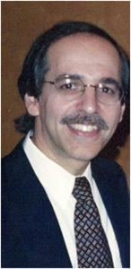 Warren Gefter, de vader van Amanda Gefter