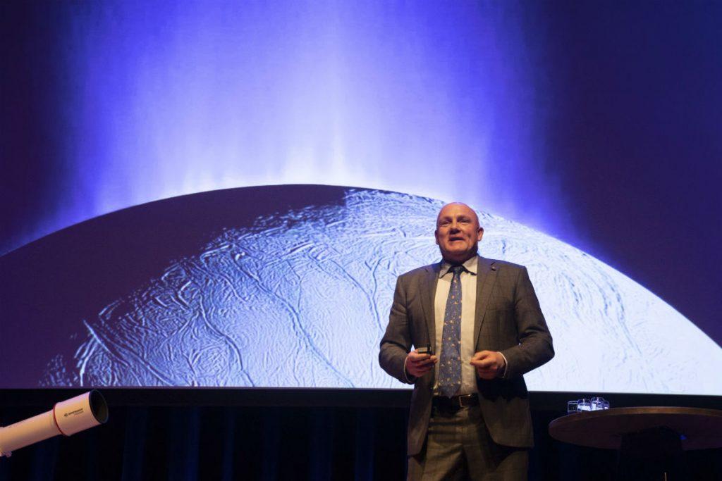 André Kuipers op het Gala van de Sterrenkunde