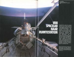 De eerste pagina van het artikel uit 1986. Bron: Natuur en Techniek