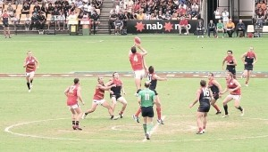 Australian football. Bron: wikimedia commons