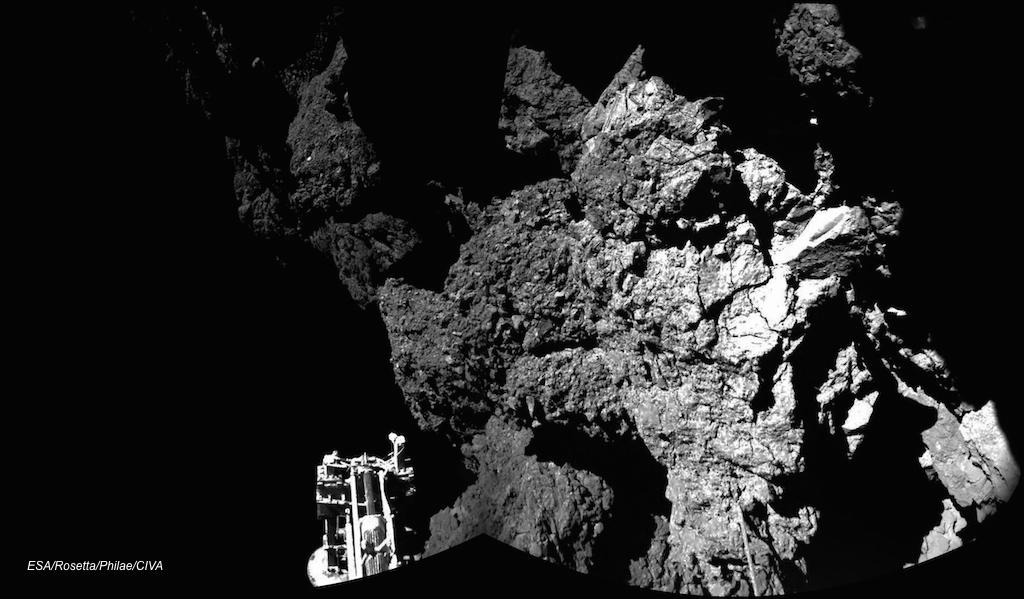 Rosetta Philae rots