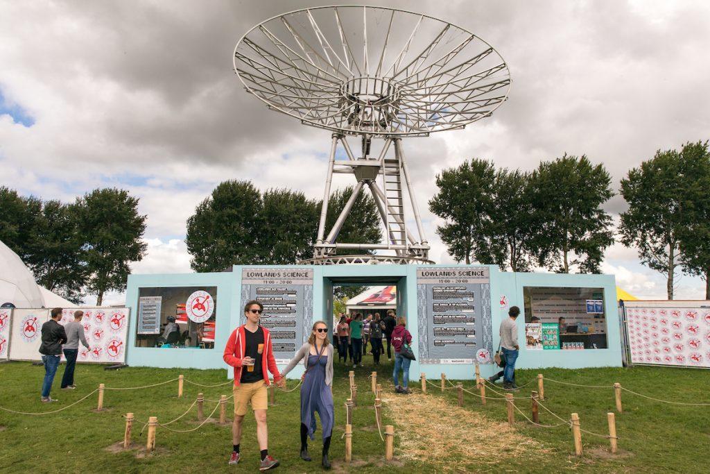 Lowlands Science 2017. Foto: Bas Uterwijk