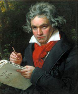 Beethoven werd in zijn late jaren versleten voor gek. Hoe kon hij zulke duivelse muziek maken die niet om aan te horen was.