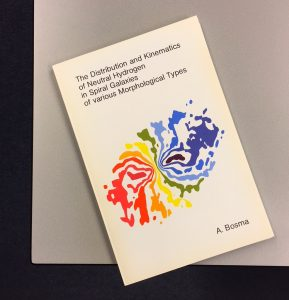 Het proefschrift van Albert Bosma.