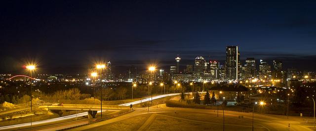 Calgary was getuige van de eerste quantumteleportatie over 7 kilometer. Foto: Calgary Reviews