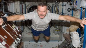 Chris Hadfield. Foto: NASA