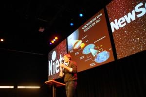 New Scientist cafe evenement Jan Pieter van der Schaar