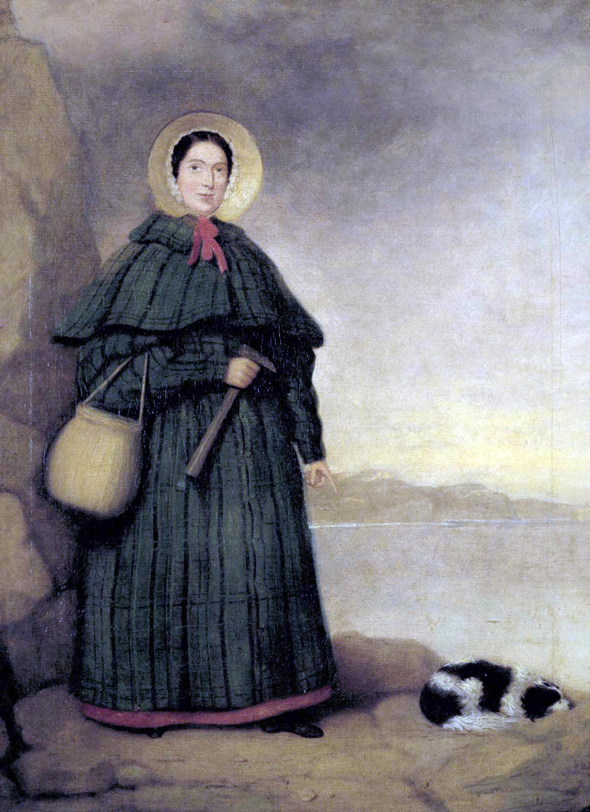 De EngelsepaleontoloogMary Anning (1799 - 1847) stond bekendals de bestefossielenverzamelaar van haar tijd.