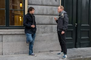 Tijs en Esschendal hopen dat hun initiatief bijdraagt aan maatschappelijke dialoog. Foto: Joost Imhof