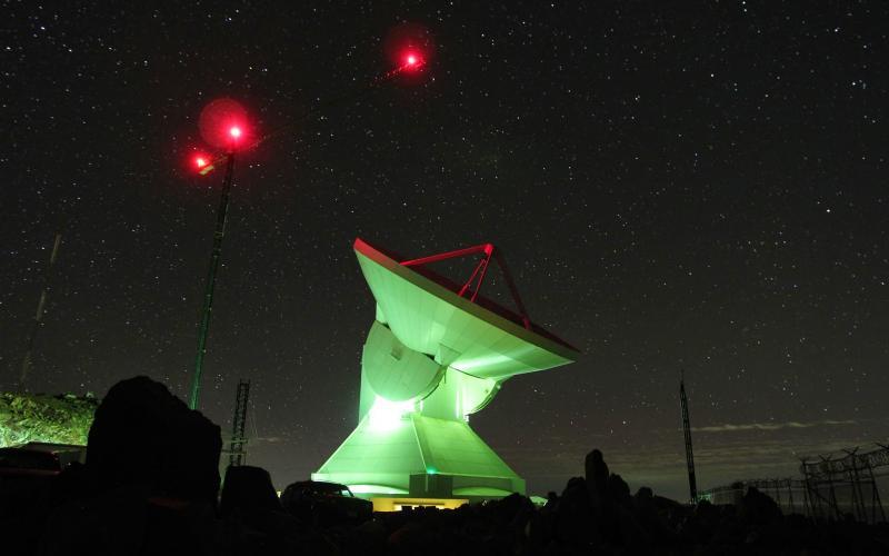 Astronomen ontdekken een van de eerste sterrenstelsels die in het heelal zijn ontstaan