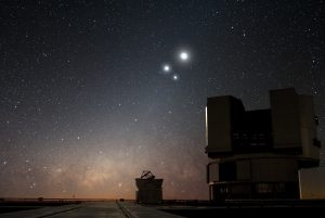 Very Large Telescope. Foto: ESO