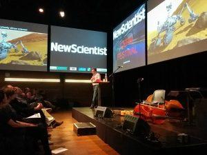 Een eer: deeltjesfysica-expert Jorgen D'Hondt op het Cern-festival