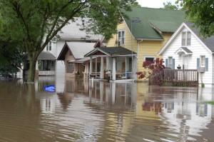 Overstromingen komen in veel gebieden voor door El Niño. Foto: USGS