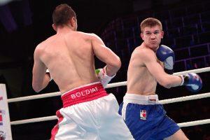Een echte man bewijst zichzelf in de ring, volgens Gottschall. Foto: World Series Boxing