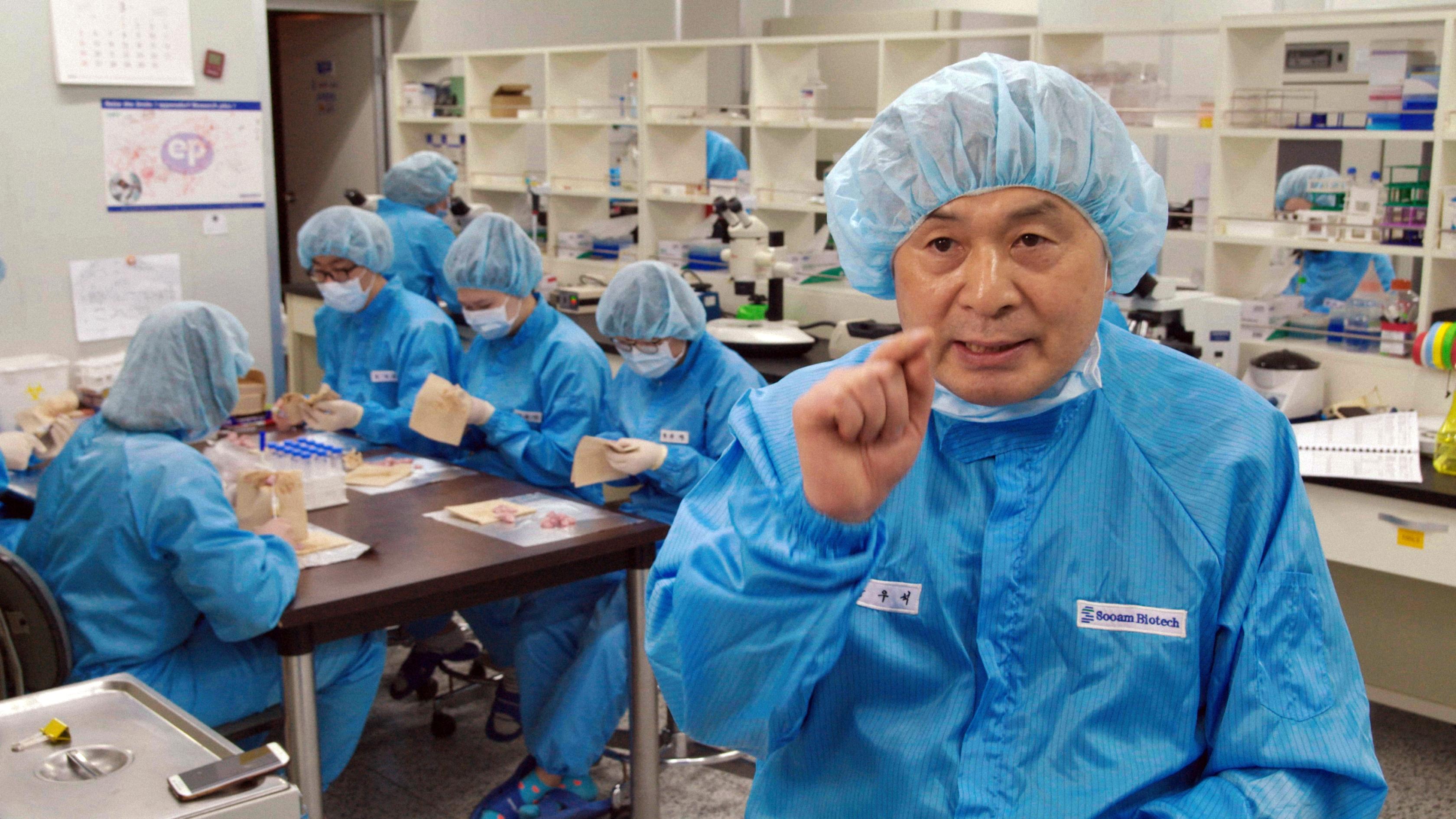 Semyon Grigoriev droomt ervan een mammoet te klonen. Beeld: Genesis 2.0
