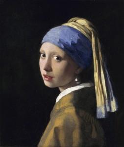 Meisje met de parel van Johannes Vermeer. Bron: Mauritshuis