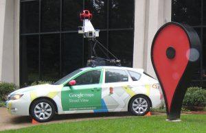 De camera-auto's van Google Street View kunnen ook gaslekken opsporen. Bron: Wikimedia Commons