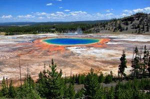 Als de supervulkaan onder Yellowstone National Park uitbarst, zijn we allemaal de sjaak.