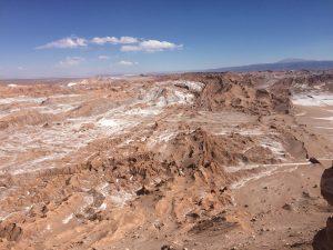 Het bijzondere landschap van de Atacama-woestijn. Foto: Hans Stemkes