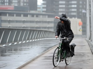 Storm raast over Nederland