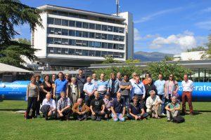 De deelnemers bij CERN