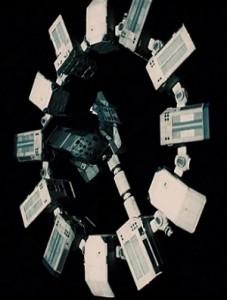 Het ruimteschip uit Christopher Nolan's Interstellar