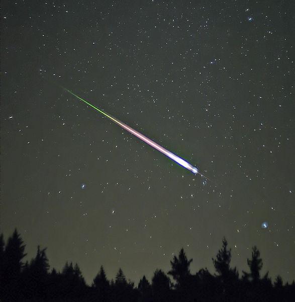 Vanavond zijn meteoren te zien van de Lyriden-zwerm. Wikimedia Commons/Navicore
