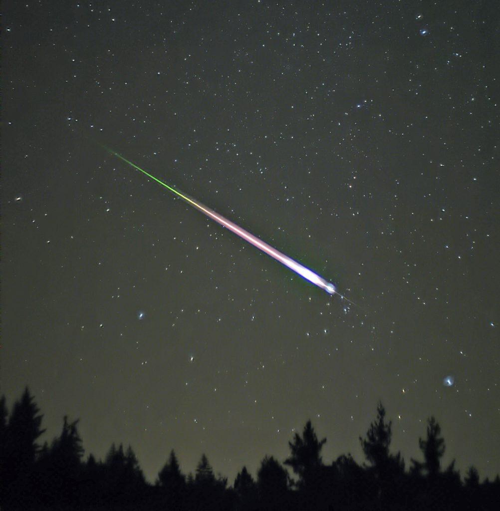 Vanavond tientallen vallende sterren te zien